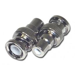 Adapter BNC (hane) / RCA (hona)