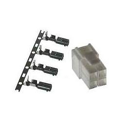 4-polig DC kontakt för tex IC-7000, TS-480, FT-2000, FT-450