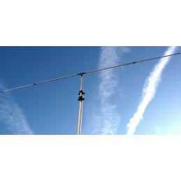 Vridbar dipol för 50Mhz mittmatad