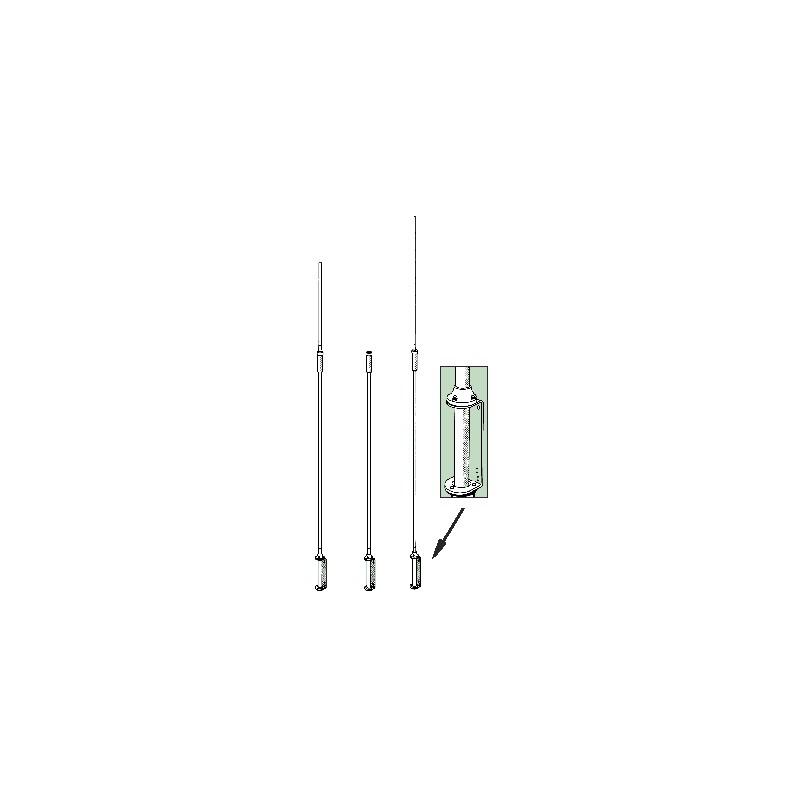 GP-3W Vertikalantenn 12/17/30m