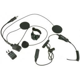 Maas Hs-7000-k Headset för öppen hjälm