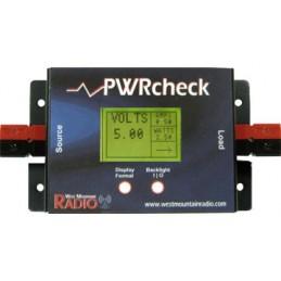 PWRcheck - Digital mätare för spänning/ström