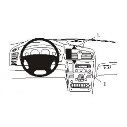 Brodit Proclip - Center Mount Volvo S60 2000 - 2010 mfl