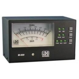 LDG M-600 Swr/pwr mätare för AT-600Pro-II