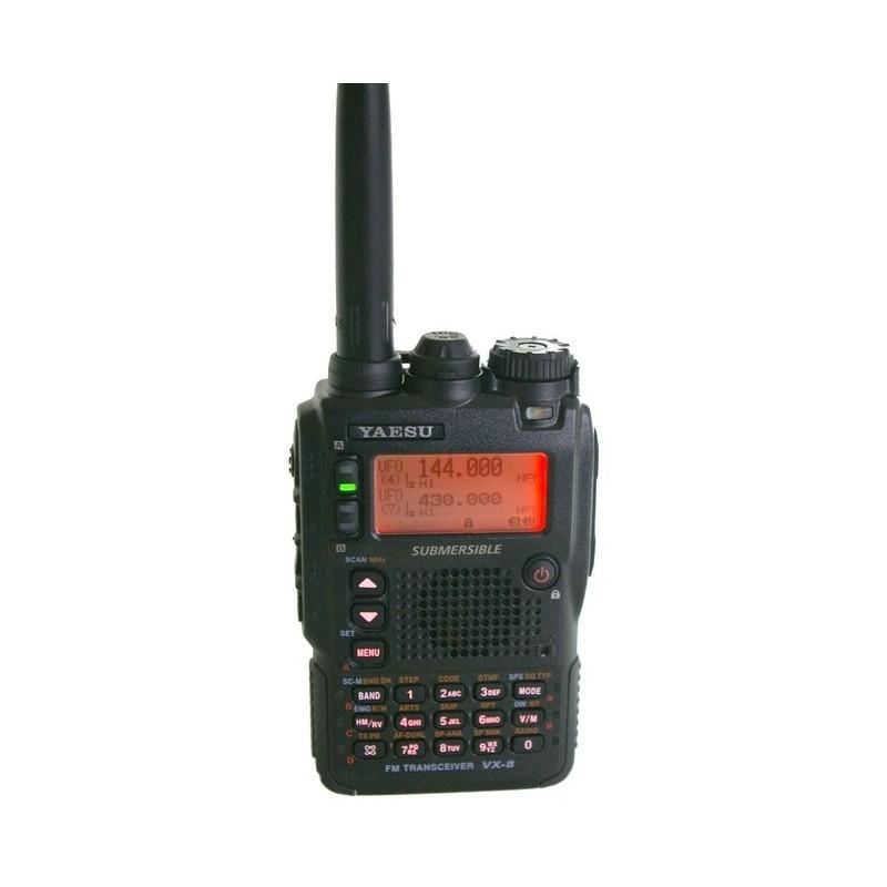 Yaesu VX-8DE trebandsradio med stöd för APRS