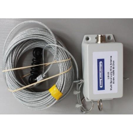 Sigma LW-10 Ändmatad dipol 7-52Mhz