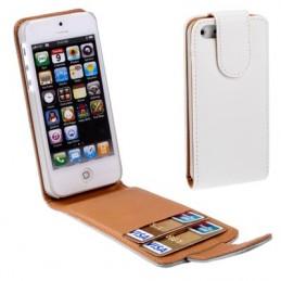Plånboksfodral iPhone 5 - Vit