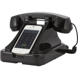 Telefonhållare/headset med 30-tals utseende