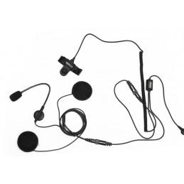 Maas Hs-4000-K Headset för öppen hjälm