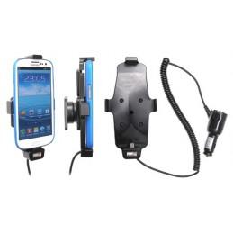 Brodit - Aktiv hållare med ciggplugg för Samsung Galaxy S4 GT-I9505