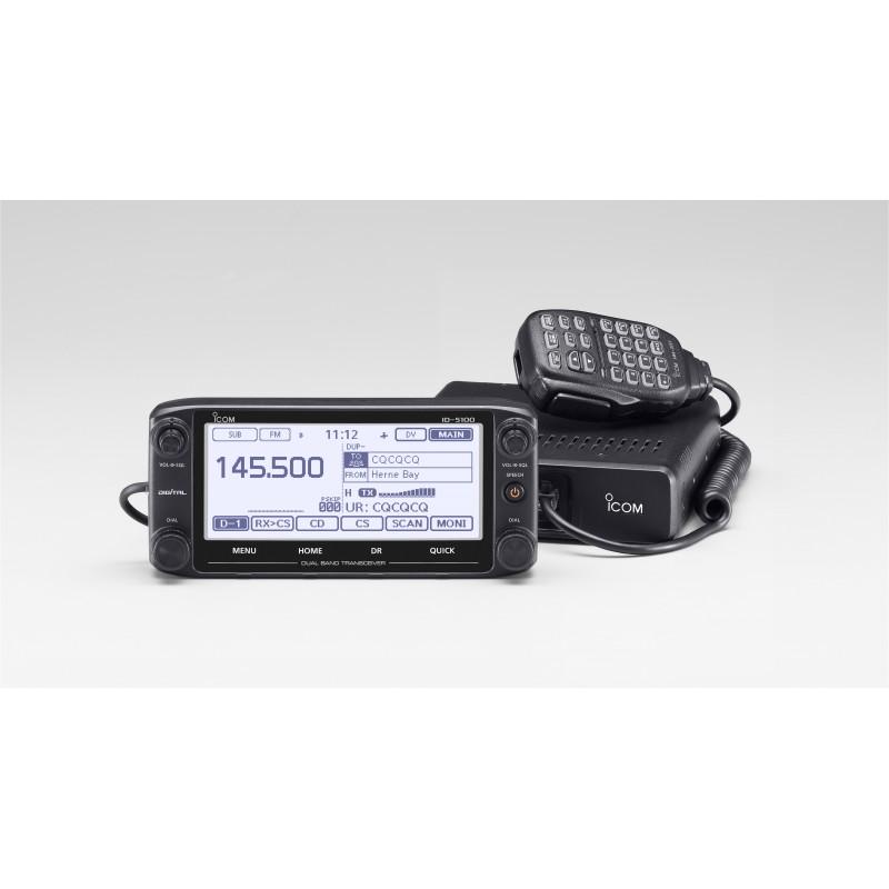 Icom ID-5100E D-star VHF & UHF, 50W, HM-207