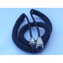 Mikrofonkabel 6pol förlängning