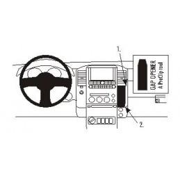 Brodit Proclip - Angled mount , Nissan Navara 06-10