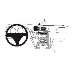 Brodit Proclip - Center mount, Chevrolet Trail Blazer 02-09