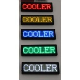 Namnskylt LED Programmeringsbar