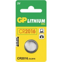 Batteri CR2016 Lithium cell 1-pack