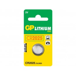 BATTERI CR2025 LITHIUM CELL 1-PACK