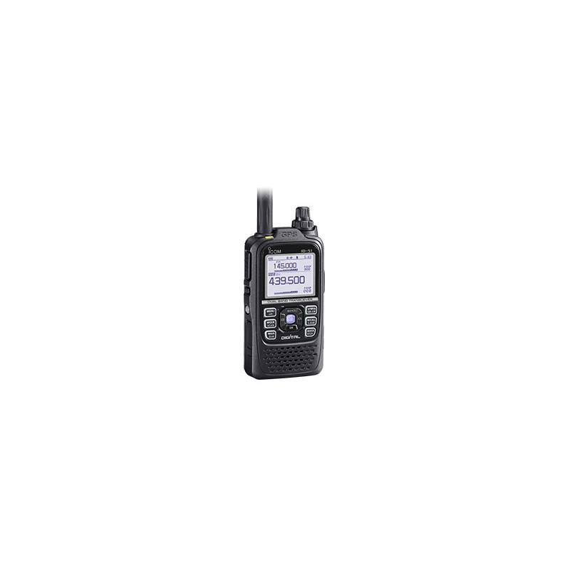 Icom ID-51E Plus, D-star VHF/UHF, GPS, Micro SD, IP-X7