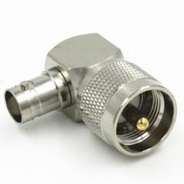 Adapter PL-259 till BNC hona Vinkel
