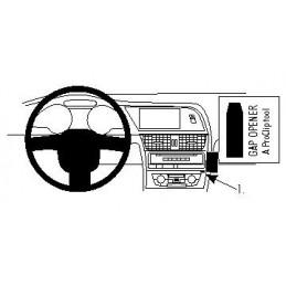 Brodit Proclip -Angled mount, Audi A4, A5, S4, S5 08-15