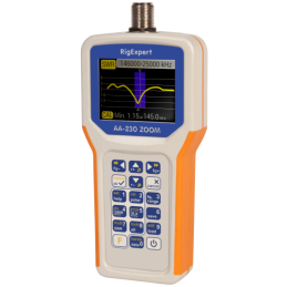 RigExpert AA-230 Zoom - Antenna Analyzer 0.1 - 230MHz