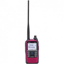 Icom ID-51E Plus, Rosa D-star VHF/UHF, GPS, Micro SD, IP-X7