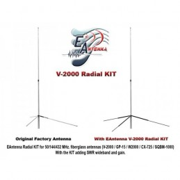 EAntenna radialkit för Diamond V-2000 145cm