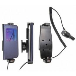 Brodit - Aktiv hållare med cigg-kontakt för Samsung S6/S7