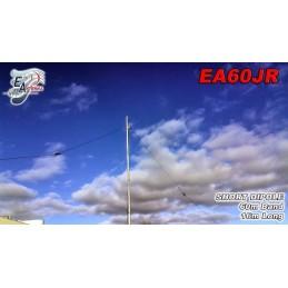 EAntenna EA60JR dipol för 60m 1.5kW