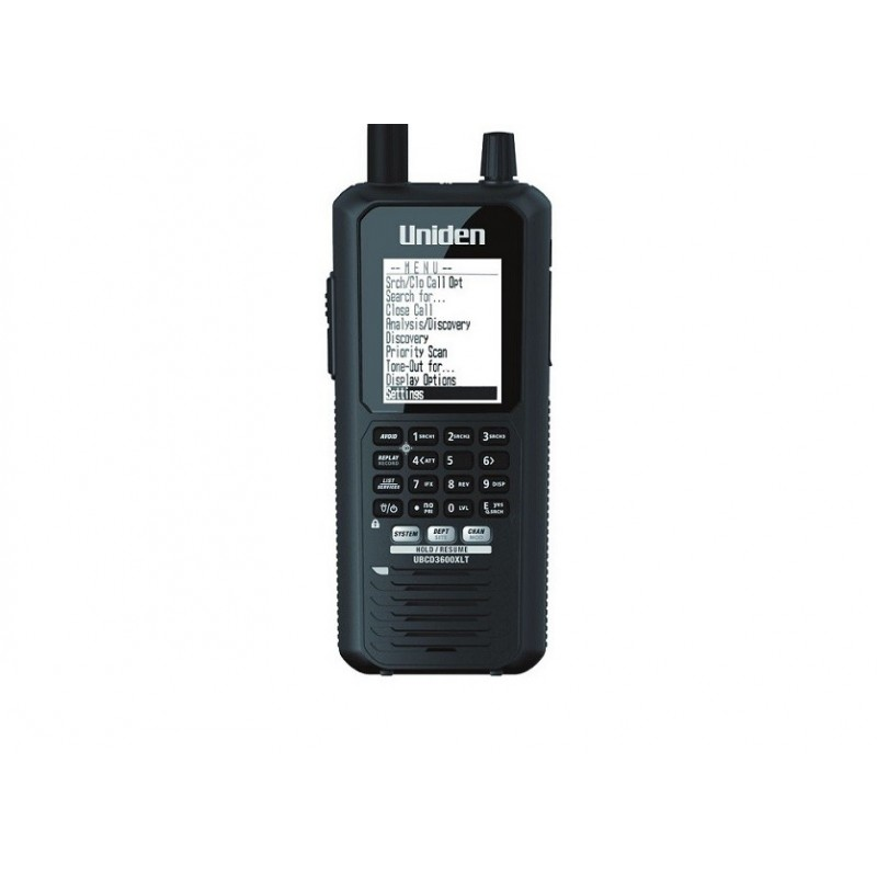 Uniden UBCD-3600XLT Analog/digital