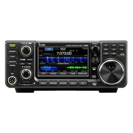 Icom IC-7300 HF/50/70Mhz Beg