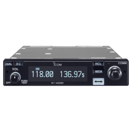 Icom IC-A220E (TSO Version) Fast flygradio