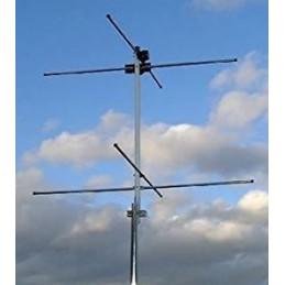 Turnstile antenn för NOAA Vädersatellit 137MHz