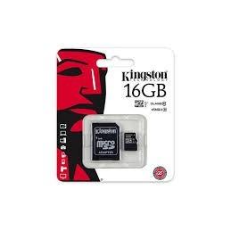 Minneskort, microSDHC, 16GB