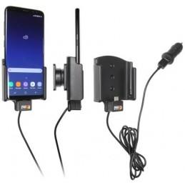 Brodit - Aktiv hållare med cigg-kontakt för Samsung Galaxy S8