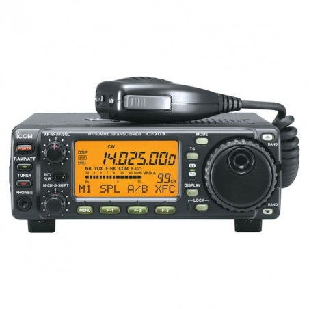 Icom IC-703 QRP rig med inbyggd AT