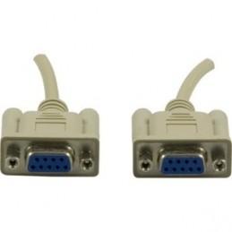 Seriel kabel DB9Ho-DB9Ho