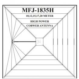 MFJ-1835H 10,12, 15, 17 & 20m 1,5 kW