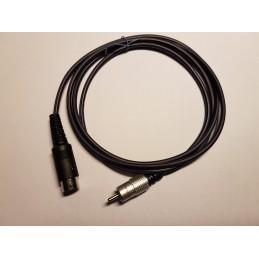 Kabel med relä för slutsteg till Icom 7pin 1.5m
