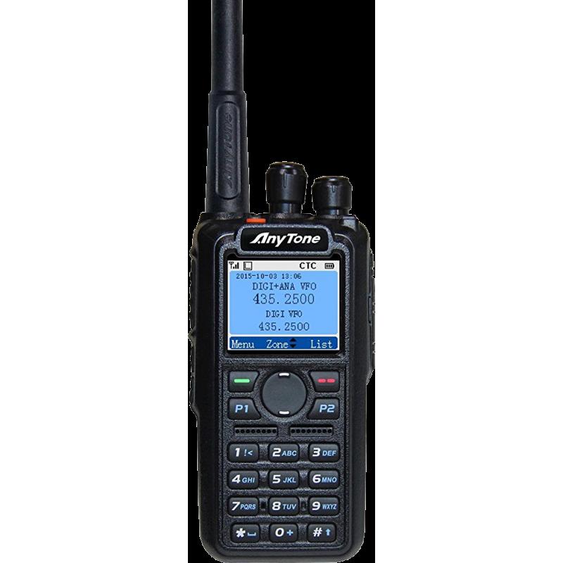 AnyTone D868UV DMR 136-174 & 400-480MHz