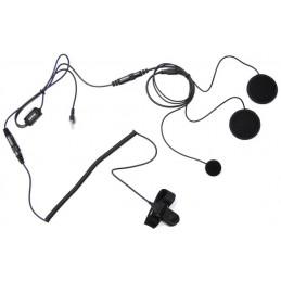 Maas Hs-2000-S Headset för integral hjälm