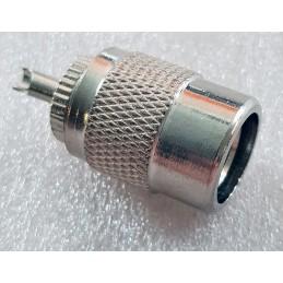 Kontakt PL-259/6mm bakelit för RG-58
