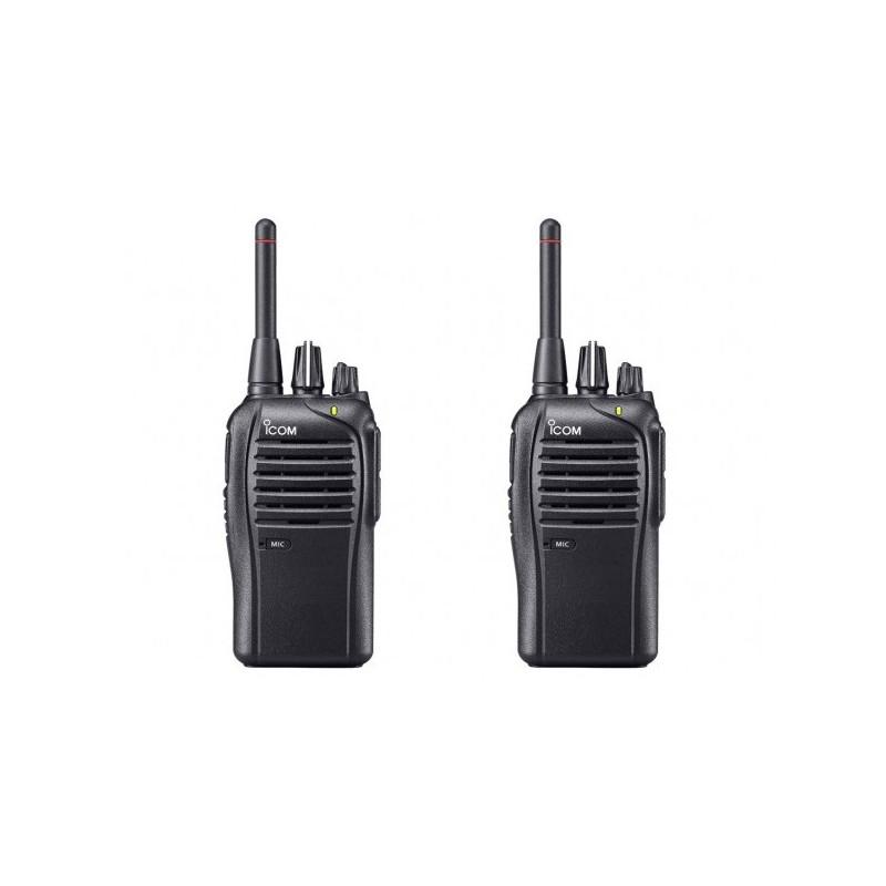 2st Icom IC-F27SR Licensfri PMR446 radio