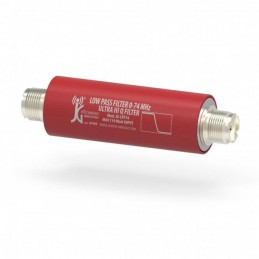 Low Pass filter 0-74MHz