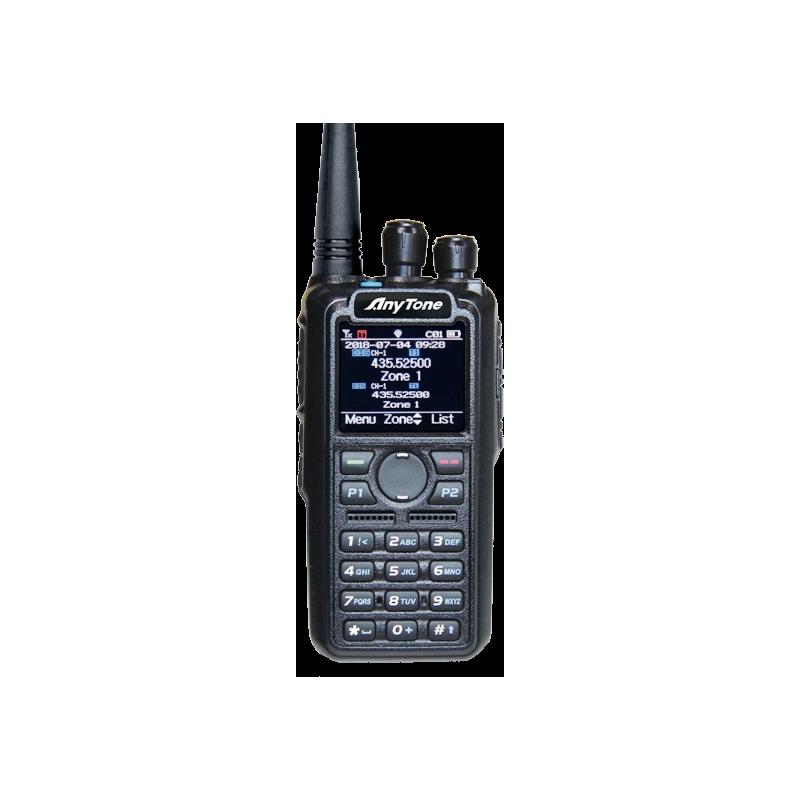 AnyTone D878UV Blåtand DMR VHF/UHF