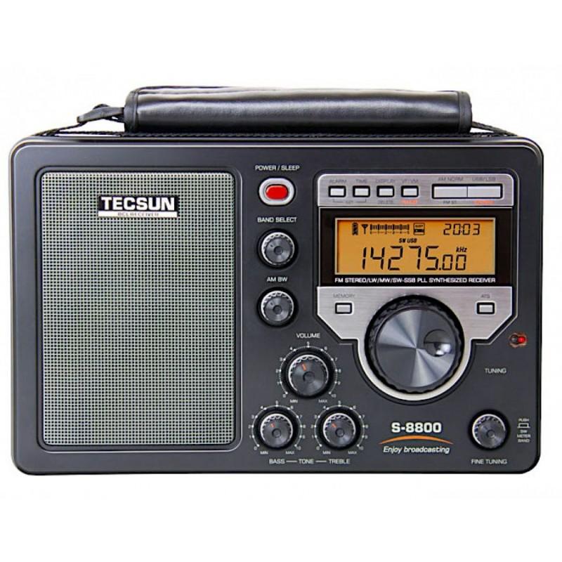 Tecsun S-8800 HF SSB mottagare med DSP