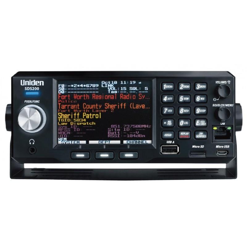 Uniden SDS-200E Analog/digital
