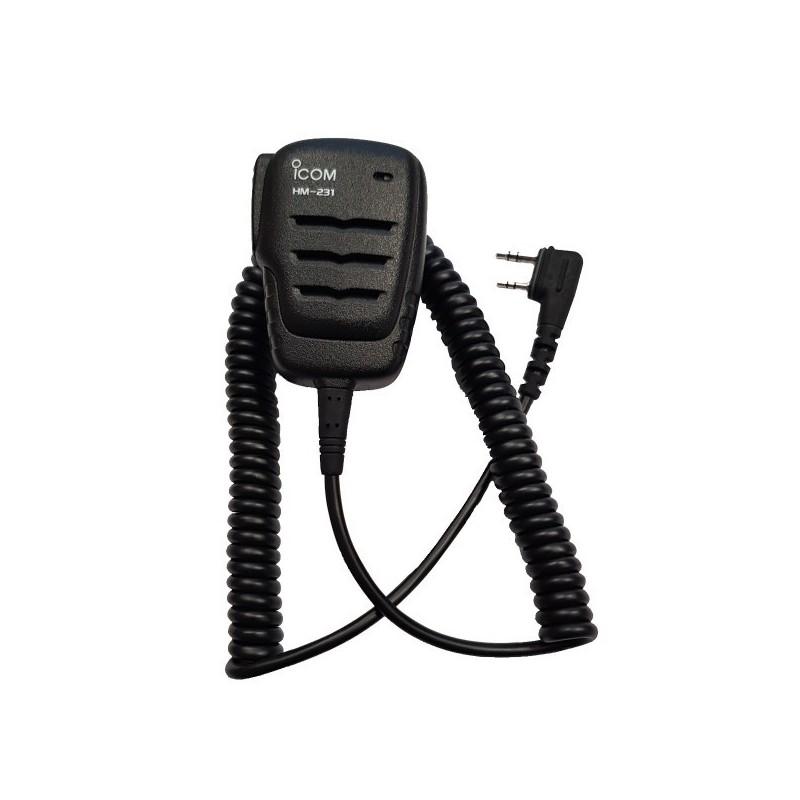 Icom HM-231 Monofon IC-A25