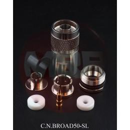 Kontakt N Hane 10.3mm (.400) kabel lödfri