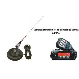 Startpaket för 69MHz mobil Beg